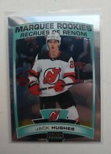 🔥2019-20 O PEE CHEE PLATINUM JACK HUGHES MARQUEE ROOKIE NEW JERSEY DEVILS 🔥