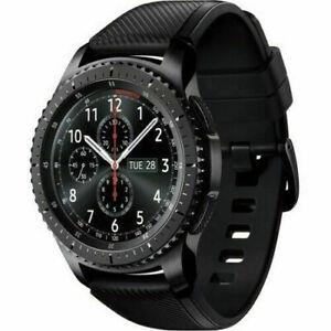 Samsung Gear S3 Frontier SM-R765V Verizon Stainless Steel Case LTE Smart Watch