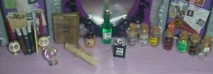 Miniature Halloween Display Items~*~OOAK~*`Many Tiny Items