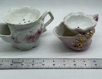 Lot of 2 Vintage Japanese Tea Strainers