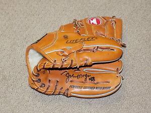 Joe Morgan Game Worn Signed Mizuno Fielders Glove Oakland A's Phillies PSA DNA