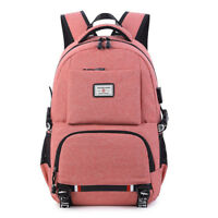 Backpack Women USB Charging Backpack Travel Large Capacity Laptop Bag School Bag
