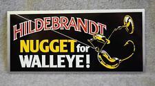Hildebrandt Spinner Bait Nugget For Walleye Promotional Bumper/Window Sticker
