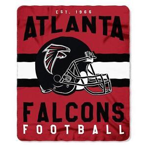 "Atlanta Falcons 50"" x 60"" Singular Fleece Throw Blanket by Northwest"