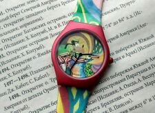 Vintage Watch Disney Goofy Claude Monet Watch Limited Edition Rare