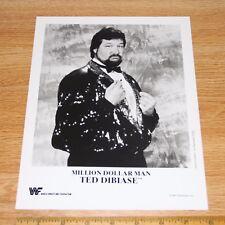 Ted Dibiase official original 8x10 wcw wwe wwf promo photo p-225 1994