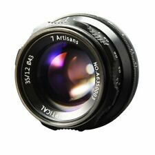 7artisans 35mm F1.2 Objektiv Manuelle Fokus für Fuji FX Mount Mirrorless Kamera