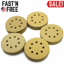 100PCS 5'' Sanding Discs 60 80 120 150 220 Grit Assortment Hook & Loop Sandpaper