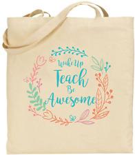 Sac Fourre-tout-enseignants Cadeau-Réveil Apprendre Être Génial