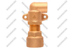 Gas Cooker Connection Point Elbow Bayonet Connector for Hose Pipe Flex Fitting R