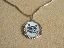 Beatles Memorabilia Necklace With Brooch Halskette A+R.C. Ltd. UK 1963