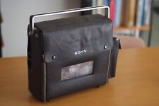 Sony Portable Reel to Reel Player/Recorder, with Mic, Case, Working, Japan made