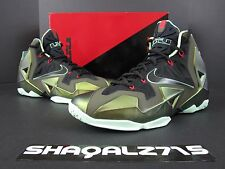 NIKE AIR LEBRON 11 XI KINGS PRIDE DS 616175- 700 Parachute Gold MVP SIZE 11