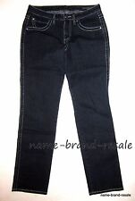 JAG JEANS Mid Rise Straight Leg Womens 6 Dark Wash Denim Embroidered Pockets