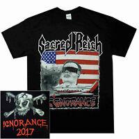 Sacred Reich Ignorance T Shirt S M L XL Official T-Shirt Thrash Metal Tshirt