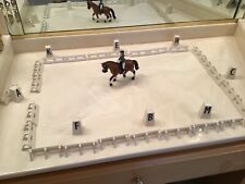Schleich Horse & Rider with Dressage Ring Accessories Lot
