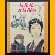 La Rose d'Or LA BELLE ET LA BÊTE Madame de Villeneuve Ludek Manasek 1970