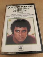Johnny Mathis : Best Days Of My Life : Cassette Tape Album from 1979