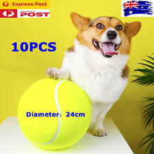 "10PCS x 24cm/9.5"" Large Giant Tennis Ball Pets Dog Toys Signature Gift"