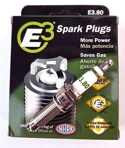 E3.80 E3 Premium Automotive Spark Plugs - 4 SPARK PLUGS