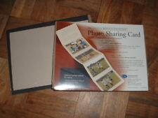 2 Creative Memories Tan Photo Sharing Cards 4x6 Photo Mounting Sleeves NIP