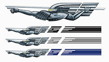gt stripe the fast and the furious style car graphic decal set of 2 new
