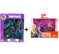 Fortnite Dire Action Figure + Sergeant Jonesy & Carbide Battle Royale Collection