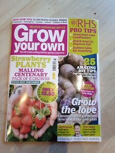 Grow Your Own Magazine with year planner poster February 2021