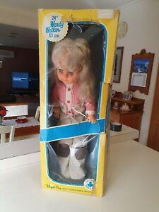 "Regal ""Wendy"" Walking Doll, original box. Canadian Manufacture. 24"" or 63 cm"