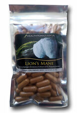 Lion's Mane Extract (10:1 equivalent to 4,000mg ), Vegetarian Capsules