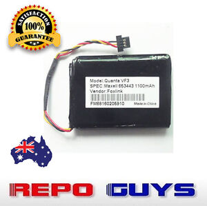 TomTom QUANTA VF3 replacement battery 1100mAh GPS Battery