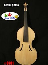 Baroque style unfinished 4/4 violin,white violin,hand  made #8781