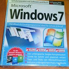 Schulungspaket mit Software und Buch Windows 7