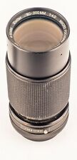 Vivitar 80-200mm f4 Manual Macro Focusing Zoom Lens With Canon FD Mount