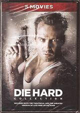 Die Hard Collection DVD 5 Movies Bruce Willis BRAND NEW