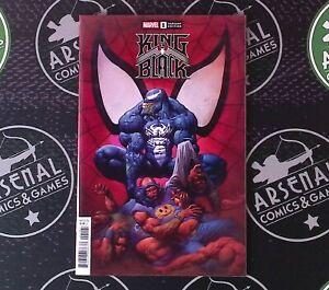 King in Black #1 2021 Marvel Comics 1:100 Incentive Variant Cover F Horley Venom