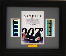 007 SKYFALL FRAMED FILM CELL JAMES BOND DANIEL CRAIG