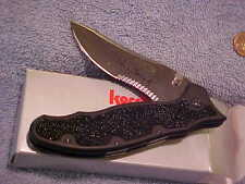 Kershaw1680ST Steven Seagal Knife New in Box AUS8A Steel DISCONTINUED  mVPR