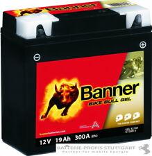 BANNER BIKE BULL GEL  Motorradbatterie 12V 19Ah BMW mit ABS NEU GT20H-3