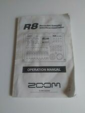 New listing Zoom R8 Operation Manual Original