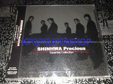 Shinhwa Precious Essential Collection Bokutachi wa Shinhwa desu 2 CD DVD RARE