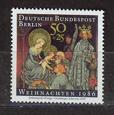 ALEMANIA BERLIN GERMANY 1986 MNH SC.9NB242 Christmas