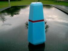 "Lou Lou Spray Blue Empty Perfume Bottle Empty 4"" 30Ml Blue Color"