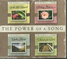 The Power Of A Song 4 CD Box Set Praise & Worship (Brand New Factory Sealed)