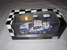 J163 MINICHAMPS 1/43° PORSCHE 911 GT3 RS LE MANS 2004