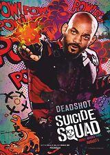 Suicide Squad Film Posters  - Deadshot A4 260GSM
