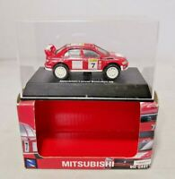 NEW RAY - 1:64 DIECAST - MITSUBISHI LANCER EVOLUTION VII RALLY CAR - BOXED