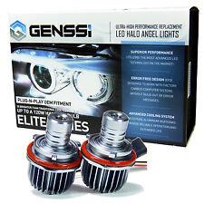 2x 10W White Angel Eyes LED Halo Ring Marker Light For BMW E39 E53 E60 120W