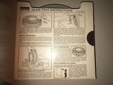 Vintage Montgomery Ward Slide Tray for Carousel Projectors