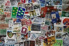 100 verschiedene Marken Island - gestempelt